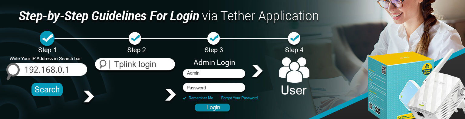 Step-by-Step Guidelines For Login via Tether Application